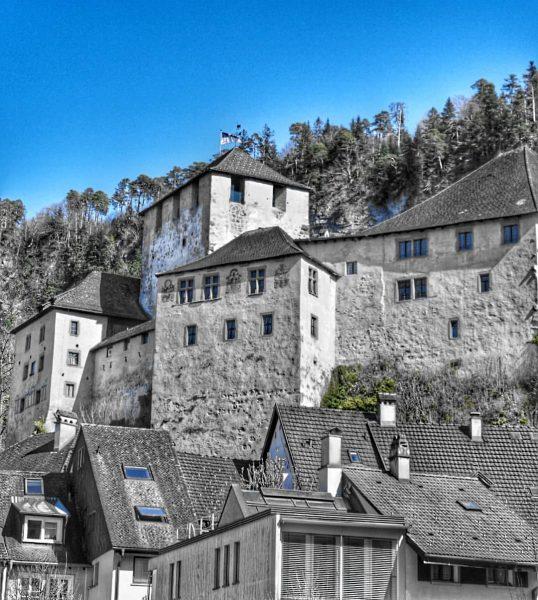 Schattenburg von Feldkirch #feldkirch #frastanz #voralberg #bludenz #dornbirn Feldkirch, Vorarlberg