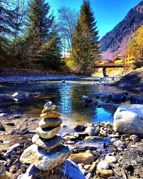 """Die """"Alfenz"""" ist der Hauptfluss des Klostertals. Sie entsteht aus dem Zusammenfluss von ..."""