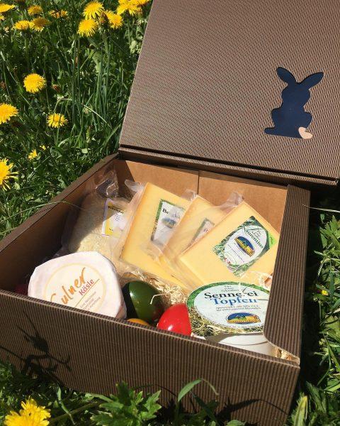 Das Team der Sennerei Schnifis wünscht frohe Ostern! 😊🐇 #regional #osterbrunch #ostereier #käse ...