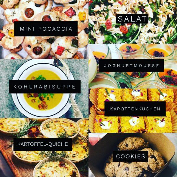 2. Genusspaket - Lieferung/Abholung Freitag, 24. April 2020 #focaccia #kohlrabisuppe #kartoffelquiche #salat #karottenkuchen ...