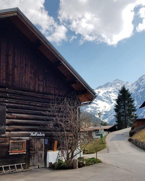 Vor einer Woche haben wir einen gemütlichen Spaziergang nach Hirschegg gemacht und Mittelberg ...