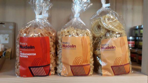 Neu in unserem Sortiment: Böschi's Nudeln Nudeln aus österreichischem Bio Getreide mit Freilandeiern ...