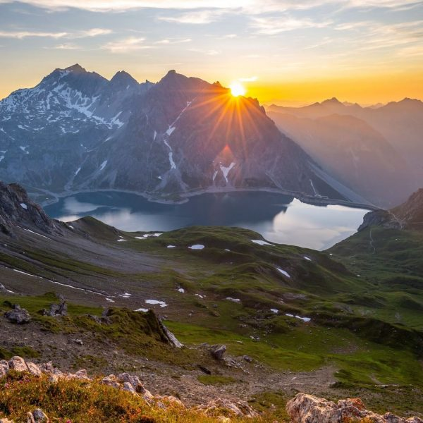 The Lünersee Circuit Trail is one of the best day hikes in the ...