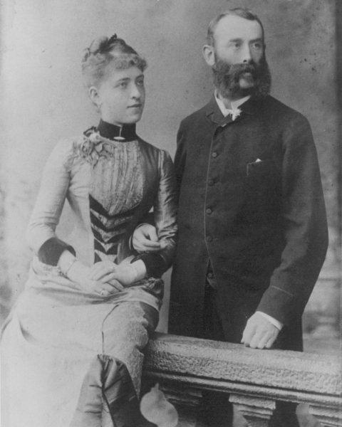 Heute vor 136 Jahren heirateten Lucian Brunner und Malvine Mandl im Stadttempel in ...