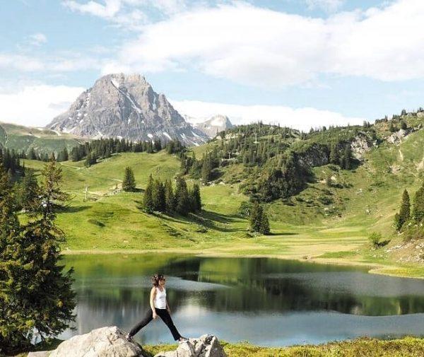 So schön ist es bei uns in den Bergen....startet gut in die neue ...