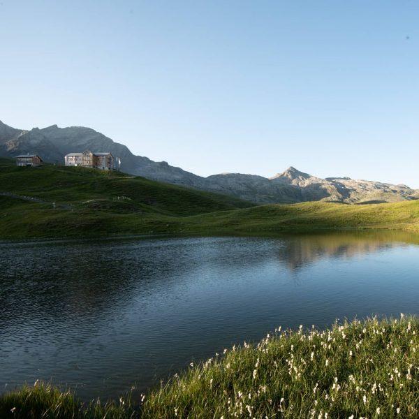 Morgen früh bei den Scheidseen zischen 2 Landesgrenzen Tirol - Vorarlberg. Ein Wunderschönes ...