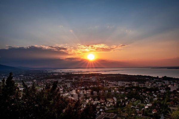 Es ist fast unmöglich, einen Sonnenuntergang zu betrachten und dabei nicht zu träumen.... ...