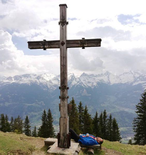 Monteneu Nachmittagsrast 😊 #pause #panorama #vorarlbergwandern #vorarlberg #bergwelten #heimatliebe #mountains #meinmontafon #montafon #enjoy ...