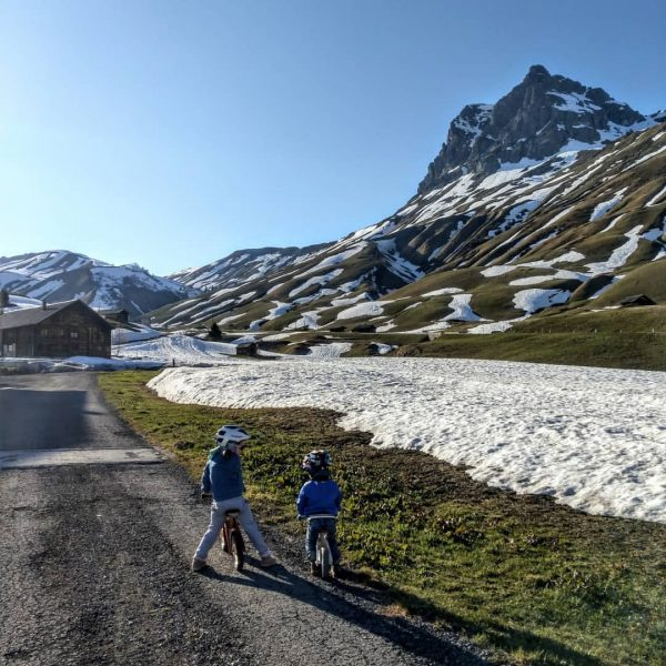 Bergfrühling 💚 #warthschröcken #visitvorarlberg #hochkrumbach #alphus #urlaubmitkind #frühling #spring