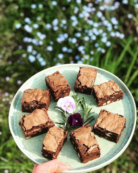 #brownie #chocolatechunk #liebegehtdurchdenmagen #food #inmykitchen #lovebakingcakes