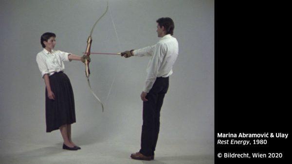KUB Sonic Views 5: Marina Abramović & Ulay, Rest Energy, 1980