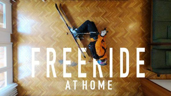Freeride Skiing at Home in 4K