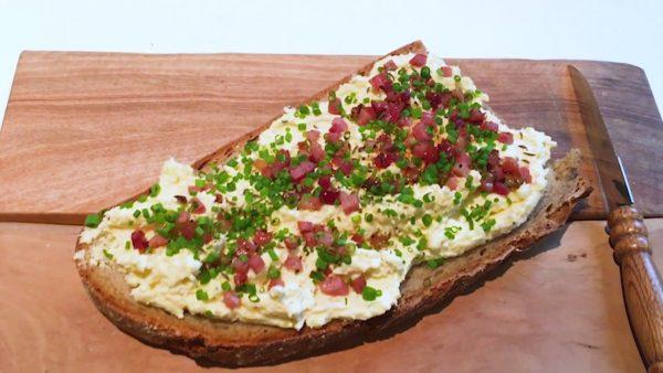 Neue Käsevariante aufs Brot Alpkäse-Kartoffelaufstrich