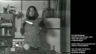 KUB Sonic Views 11: Martha Rosler, Semiotics of the Kitchen, 1975