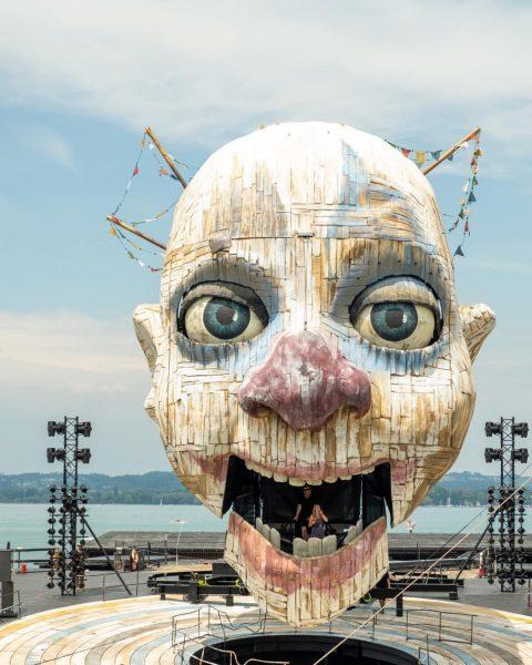 Die Geschichte der Bregenzer Festspiele von 2019 - 2021 Bühnenpräsentation für die neue ...