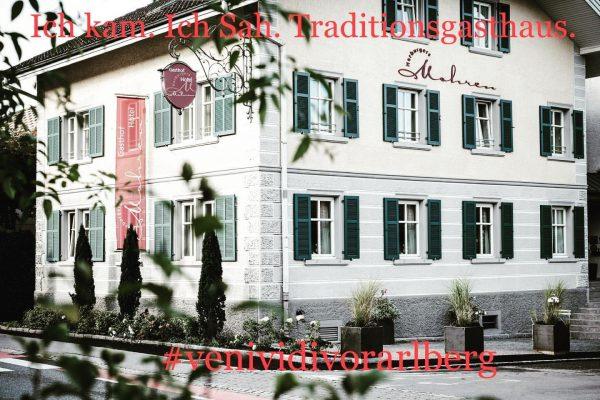 #visitvorarlberg #kaufmannschaftrankweilvorderland #venividivorarlberg #tradition #austria #holiday #slowfood #gastronomie Gasthof Mohren