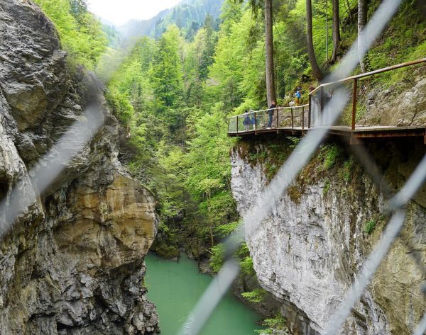 What a nature spectacle in the city of Dornbirn ⛰💦 The Rappenlochschlucht george ...