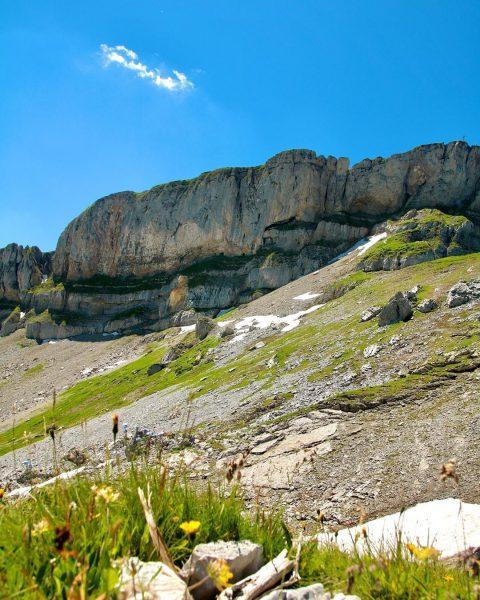 Der Hohe Ifen 🏔 mit seinen 2230m ist einer der markantesten Berge in ...