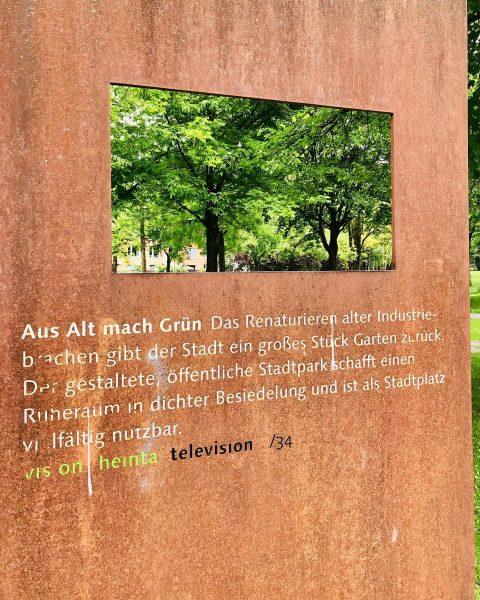 """Sommertage in Dornbirn... Aus Alt mach Grün! Das ist das Motto in den ehemaligen """"Rüschwerken"""" mitten in..."""