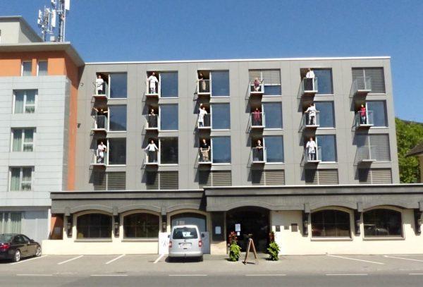 Startklar! Hotel ab 2. Juni wieder geöffnet! . . . #venividivorarlberg #dornbirn #hotel #restaurant #bestesteam #freude #tollegäste...