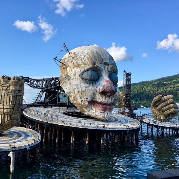 Seebühne der Bregenzer Festspiele (Rigoletto), die leider für 2020 abgesagt sind #bregenzerfestspiele #bregenz ...