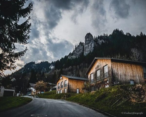 Was in Vorarlberg definitiv sofort auffällt ist die tolle Architektur. Die Häuser sind ...