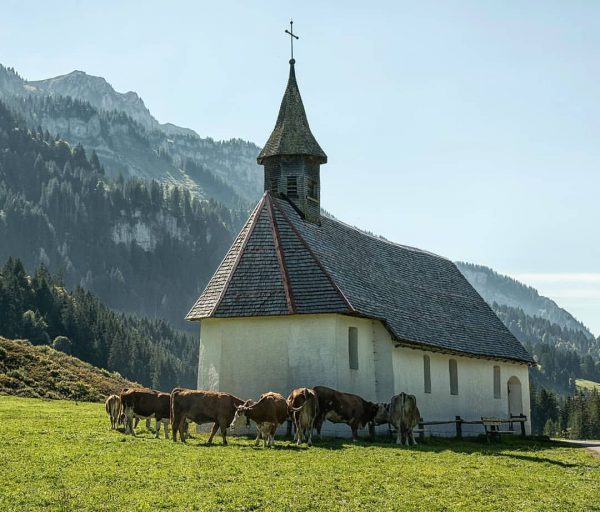 chapel in schönenbach in the bregenzerwald #schönenbach #bizau #bregenzerwald #best_earthscapes #earthmood #earthpix #lesserknowntalents ...