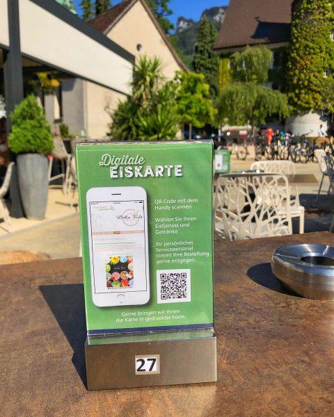 Habt ihr schon unsere digitale Eiskarte ausprobiert? In der Dolce Vita Hohenems einfach den QR-Code scannen und...