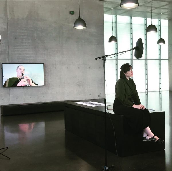 Interview with Bronwyn Lace #arte #williamkentridge #thecentreforthelessgoodidea #kunsthausbregenz