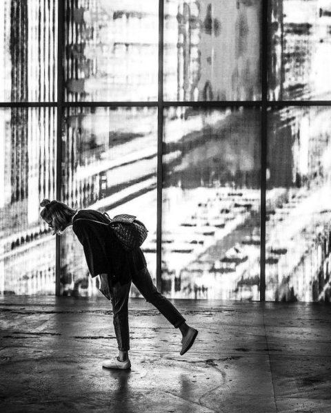 Ich kam. Ich sah. Einen schicken Fußboden im Kunsthaus Bregenz. ✨ #venividivorarlberg / ...