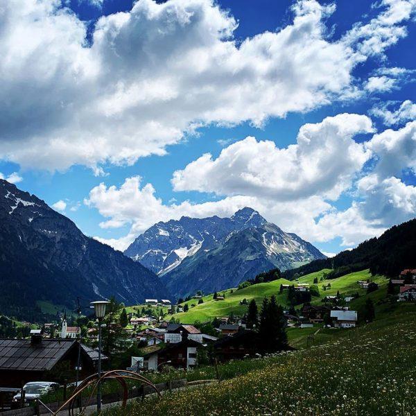 Home 🇦🇹... #kleinwalsertal #austria [advertising unpaid]