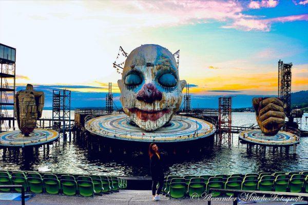 Ein kleiner Geheimtipp für Ausflugbegeisterte ist die Seebühne in Bregenz Österreich. Dort bietet ...