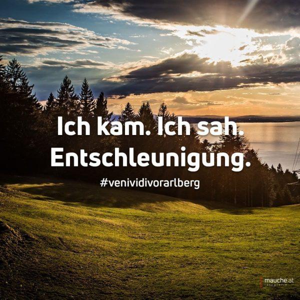 Ich kam. Ich sah. Entschleunigung. 🐌 | #venividivorarlberg #ländle #vorarlberg #unservorarlberg #visitvorarlberg #bregenz ...