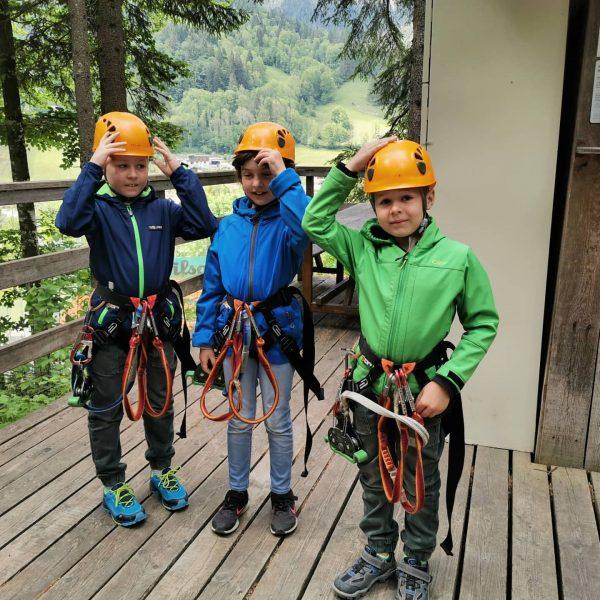Sonntagsausflug zum #KletterparkBrandnertal #brandnertal #alpenhotelzimba #venividivorarlberg