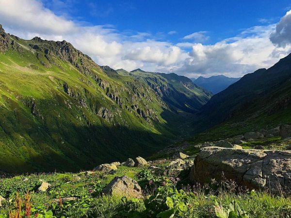 Beautiful view in the morning at 2300 meters! 🌁🏞😍 #nature #sky #sun #summer ...