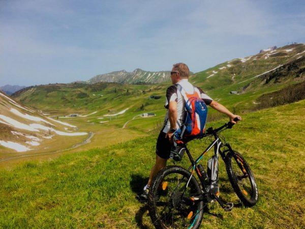 traumhafte Radtour #bach #warth #lech #auenfeldsattel #salober #lechleiten #naturparkregion