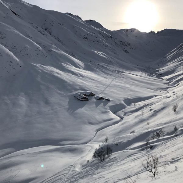 Schitour Vergaldner Schneeberg #skitouring #vorarlberg #gargellen #splitboarding Alpe Vergalden