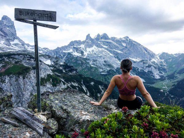 Tieto kopce...🏔❤️☺️ #wandern #natur #bilkengrat #dreitürme #austria Montafon