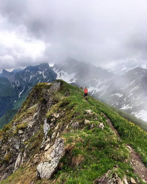 Mystical views today! #hikingday #visitvorarlberg #visitbregenzerwald #gipfelglück #wanderzeit #berge #bergpic #mountaineering #mountainscape #landscape_captures ...