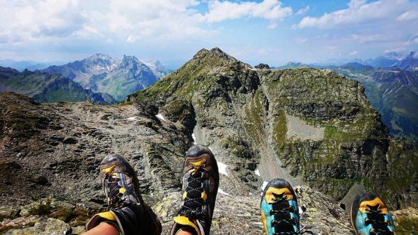 #Day3 - Da waren meine Schuhe und Füße noch trocken... 😁 #Gargellen (1.423) ...