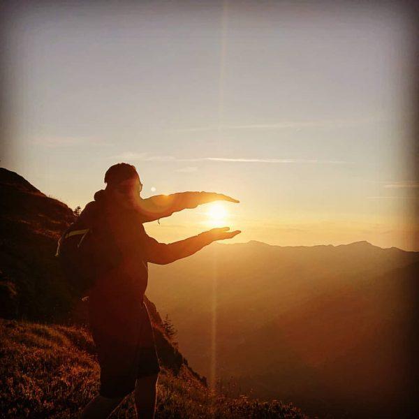 #heimat #sunset #zafernhorn #hiking #norrona 😊💪🏻👍🏻 Zafernhorn