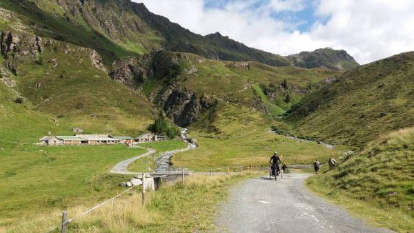 1500m downhill, auf gehts! Alpe Verbella