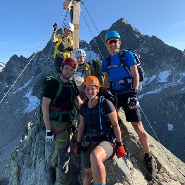 #montafon #saarbrückerhütte #klettersteig #tolleaussicht #berge #freunde Saarbrückner Hütte