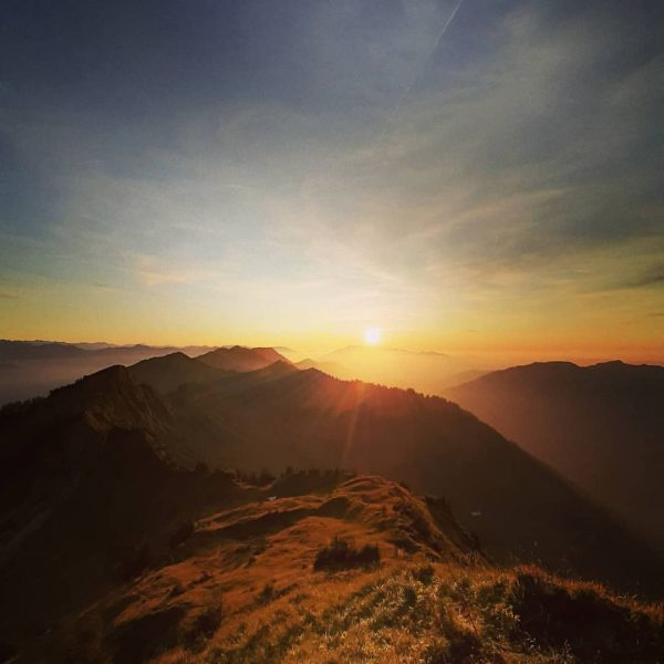 Incredible autumn sunset in Walserkamm area . . . #mountains #bergwelten #bergzeit #walserkamm ...