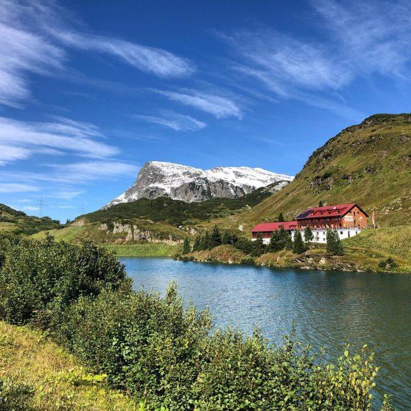 #albrechtroute 2. Tag: Zeiniisjoch Alpengasthof Zeinisjoch