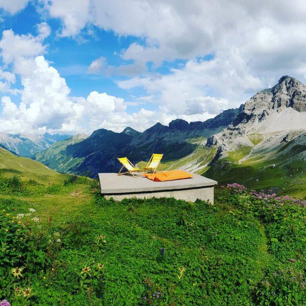 #relax #berge #aussicht #wandernmachtglücklich Stuttgarter Hütte