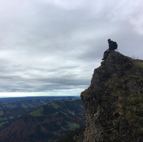 Grattour Hochhädrich zum Hochgrat mit @andre_denz Seelekopf