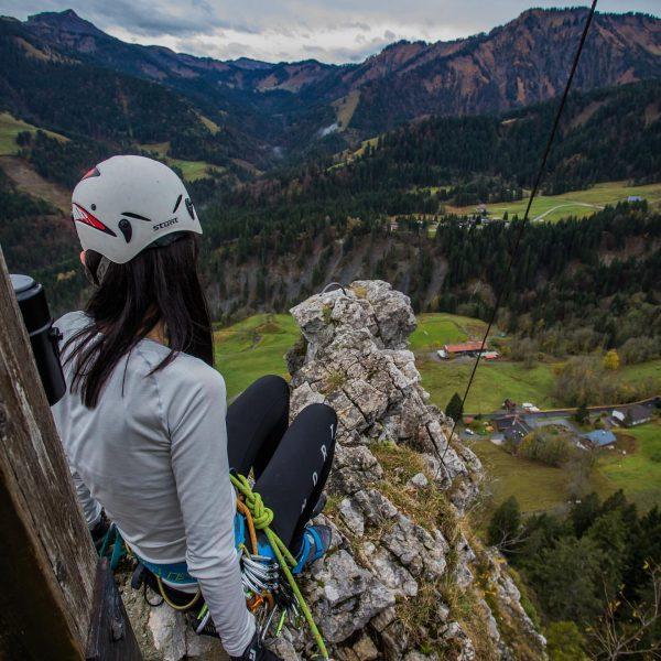 #climbing #🧗🏻♂️ #großeklara #ebnit #frozen #cold #winteriscoming #foto by @philippsteurer009 Ebnit, Vorarlberg, Austria