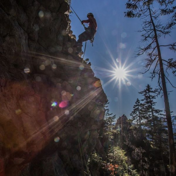 #climbing #climbersofinstagram #großeklara #ebnit #mountains #gipfelstürmer #bergmensch #sundaymorning foto by #climbingbuddy @philippsteurer009 Ebnit, ...