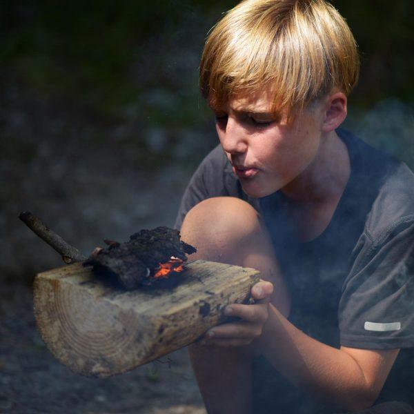 #Feuer als #werkzeug - neues Sommerprogramm für #familien #2k20 in der #oasek77